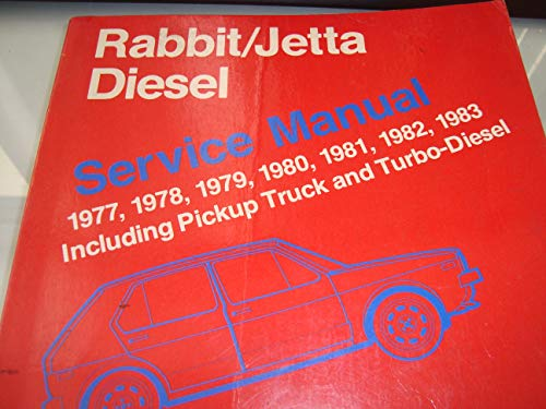 9780837601090: 1977-1984 Volkwagen Rabbit, Pickup, and VW Jetta Diesel Repair Shop Manual