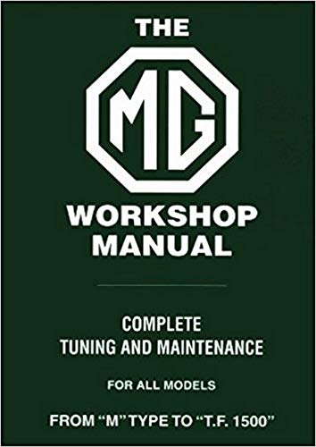 9780837601175: Mg Workshop Manual: From