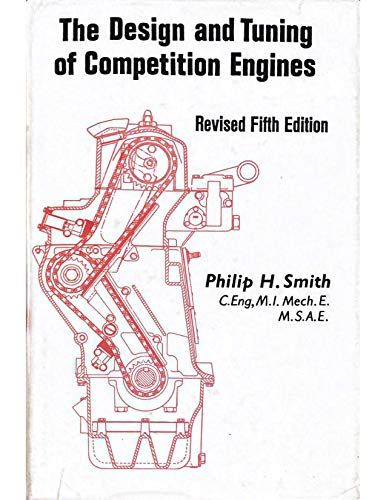 9780837601380: The Design and Tuning of Competition Engines