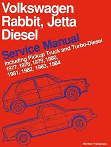 Volkswagen Rabbit, Jetta Diesel Service Manual Including Pickup Truck and Turbo-Diesel 1977, 1978, ...