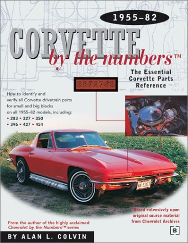9780837602882: Corvette by the Numbers
