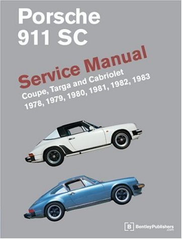 9780837602905: Porsche 911 SC: Service Manual: Coupe, Targa, and Cabriolet: 1978, 1979, 1980, 1981, 1982, 1983