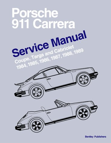 9780837602912: Porsche 911 Carrera Service Manual 1984-1989 - Coupe, Targa, and Cabriolet