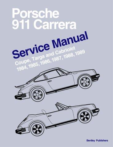 9780837602912: Porsche 911 Carrera Service Manual 1984-1989 - Coupe, Targa, and Cabriolet