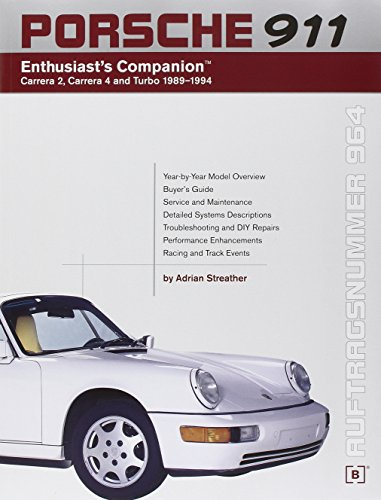 9780837602936: Porsche 911 (964) Enthusiast's Companion: Carrera 2, Carrera 4, and Turbo 1989-1994
