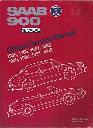 9780837603124: Saab 900 16 Valve Wsm 1985 1993