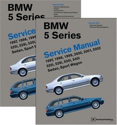 9780837603179: BMW 5 Series (E39) Service Manual 1997-2002, Volume 2: 525i, 528i, 530i, 540i, Sedan, Sport Wagon: 525i, 528i, 540i, Sedan, Sport Wagon (2 Volume Set)
