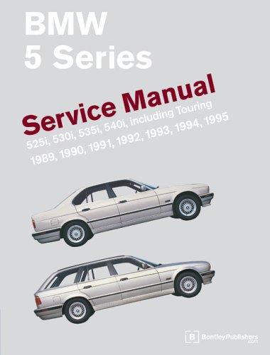 9780837603193: BMW 5-Series: Service Manual: 1989-1995: 525i, 530i, 535i, 540i, Including Touring (Workshop Manual Bmw)