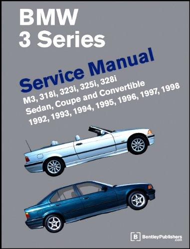9780837603261 bmw 3 series e36 service manual 1992 1998 rh abebooks com 2001 BMW 3 Series 1995 BMW 8 Series