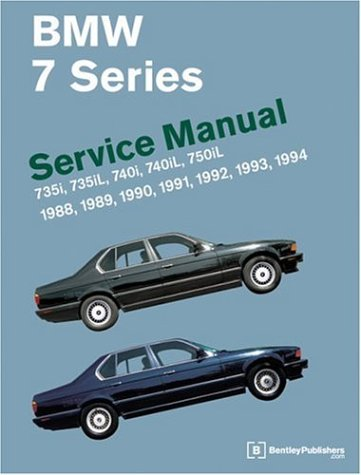 9780837603285: Bmw 7 Series: Service Manual : 735I, 735Il, 740I, 740Il : 1988, 1989, 1990, 1991, 1992, 1993, 1994