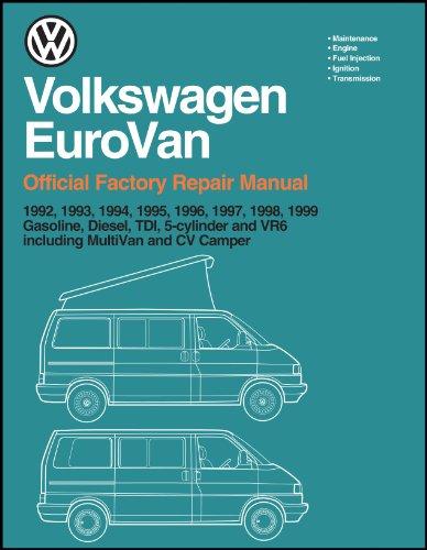 9780837603353: Volkswagen Eurovan: Official Factory Repair Manual: 1992, 1993, 1994, 1995, 1996, 1997, 1998, 1999: Gasoline, Diesel, Tdi, 5-Cylinder and Vr6, Including Multivan and cv(2 Volume Set)