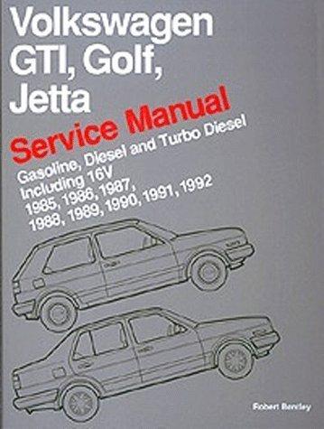 9780837603438: Volkswagen Gti, Golf, and Jetta: Service