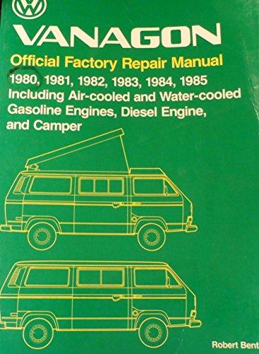 9780837603469: Title: Vanagon Official Factory Repair Manual 19801981198