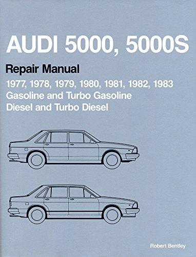 Audi 5000, 5000s Official Factory Repair Manual: Volkswagen of America,