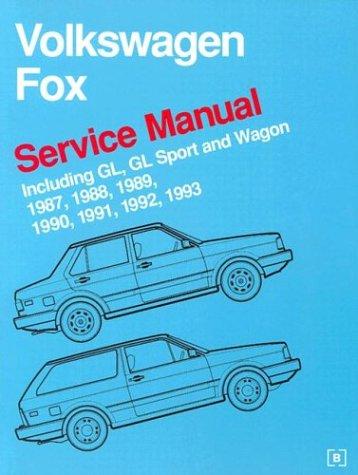 9780837603636: Volkswagen Fox Service Manual: 1987-1993
