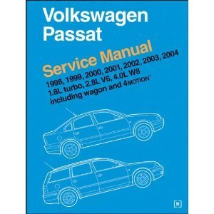 9780837603698: Volkswagen Passat: Service Manual : 1998, 1999, 2000, 2001, 2002, 2003 : 1.8L Turbo, 2.8L V6, 4.0L W8 : Including Wagon and 4Motion
