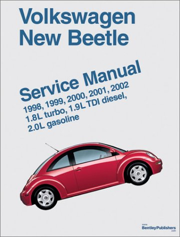 9780837603766: Volkswagen New Beetle: Service Manual : 1998, 1999, 2000, 2001, 2002 1.8L Turbo, 1.9L Tdi Diesel, 2.0L Gasoline