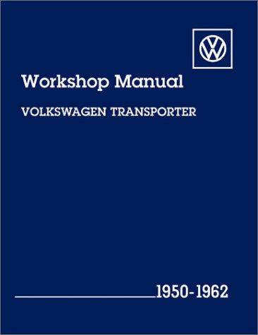 9780837603827: Volkswagen Transporter Workshop Manual: 1950-1962, Type 2