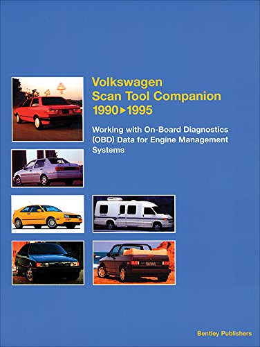 9780837603933: Volkswagen Scan Tool Companion 1990-1995: Working with On-Board Diagnostics (OBD) Data for Engine Management Systems