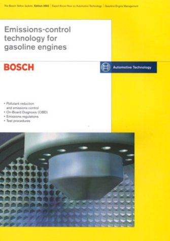9780837604749: Bosch Technical Instruction: Emission Control Technology for Gasoline Engines