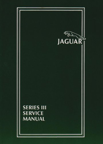 9780837605326: Jaguar: Book 1, Series III Service Manual