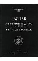 9780837605777: The Jaguar Mk 10 and 420g, 3.8 and 4.2 Litre, Workshop Manual: 1961-1969