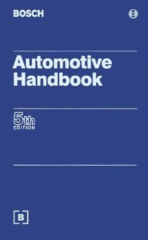 9780837606149: Automotive Handbook