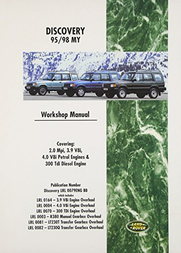 9780837606644: Land Rover Discovery Workshop Manual: 1995-1998