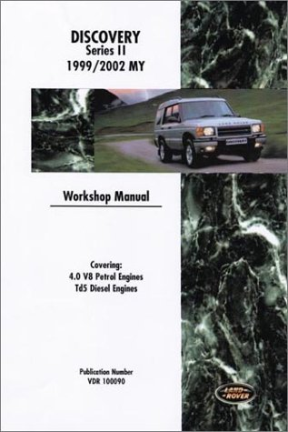 9780837606705: Land Rover Discovery Workshop Manual: 1999-2002