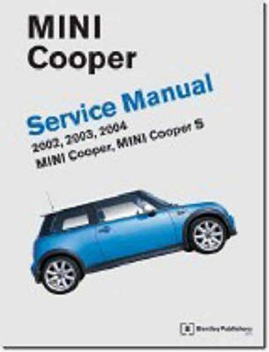 9780837610689: Mini Cooper Service Manual 2002-2004: Covers Mini Cooper, Mini Cooper S