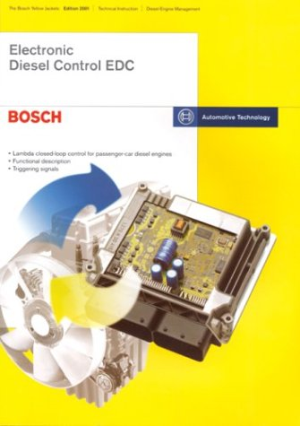 9780837610887: Electronic Diesel Control EDC: Bosch Technical Instruction