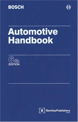 Bosch Automotive Handbook: Robert Bosch