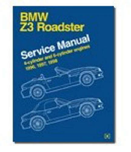 9780837612508: BMW Z3 Service Manual: 1996-2002: Including Z3 Coupe, M Coupe, M Roadster: Covers 1.9, 2.3, 2.5i, 2.8, 3.0i and 3.2 Engines