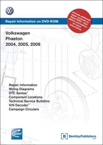 9780837612683: Volkswagen Phaeton 2004, 2005, 2006: Repair Manual on DVD-ROM