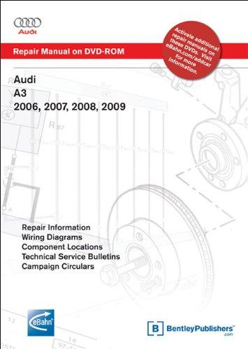 9780837613635: Audi A3 2006, 2007, 2008, 2009: Repair Manual on DVD-ROM
