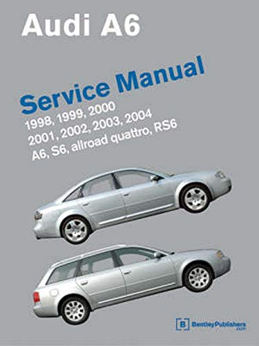 9780837614991: Audi A6 Service Manual: 1998, 1999, 2000, 2001, 2002, 2003, 2004 Including S6, Allroad Quattro, Rs6
