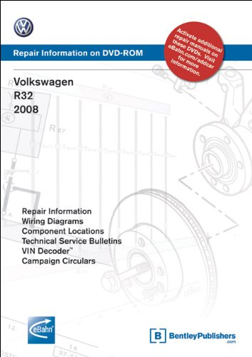 9780837615455: Volkswagen R32 2008: Repair Manual on DVD-ROM (Windows 2000/XP)
