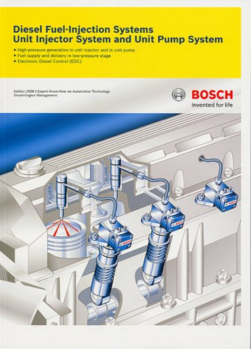 9780837615509: Bosch Diesel Fuel-Injection Systems Unit Injector System and Unit Pump System: Technical Instruction Booklet