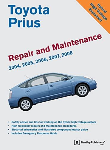 9780837615530: Toyota Prius Repair and Maintenance Manual: 2004-2008
