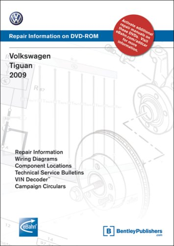9780837616117: Volkswagen Tiguan 2009: Repair Manual on DVD-ROM
