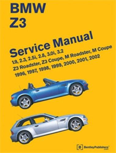 9780837616179: BMW Z3 Service Manual: 1996-2002: 1.9, 2.3, 2.5i, 2.8, 3.0i, 3.2 - Z3 Roadster, Z3 Coupe, M Roadster, M Coupe
