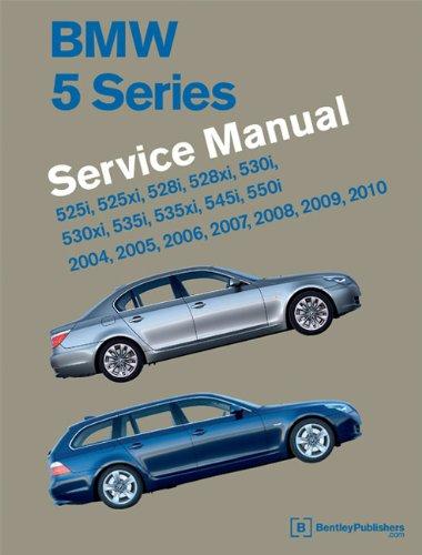 9780837616216: BMW 5 Series (E60, E61) Service Manual: 2004, 2005, 2006, 2007, 2008, 2009, 2010: 525i, 528i, 530i, 535i, 545i, 550i