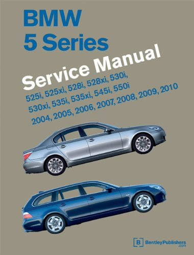 9780837616216: BMW 5 Series (E60, E61) Service Manual - 2004, 2005, 2006, 2007, 2008, 2009, 2010: 525i, 528i, 530i, 535i, 545i, 550i