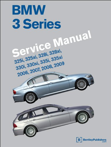 9780837616384: BMW 3 Series (E90, E91, E92, E93) Service Manual: 2006, 2007, 2008, 2009