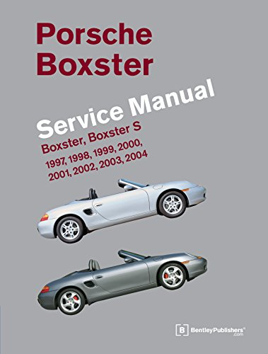9780837616452: Porsche Boxster, Boxster S Service Manual: 1997, 1998, 1999, 2000, 2001, 2002, 2003, 2004: 2.5 Liter, 2.7 Liter, 3.2 Liter Engines