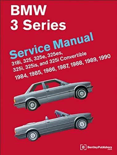 9780837616476: BMW 3 Series Service Manual 1984-1990