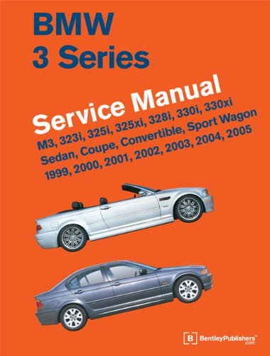 9780837616575: BMW 3 Series (E46) Service Manual: 1999, 2000, 2001, 2002, 2003, 2004, 2005: M3, 323i, 325i, 325xi, 328i, 330i, 330xi, Sedan, Coupe, Convertible, Spor