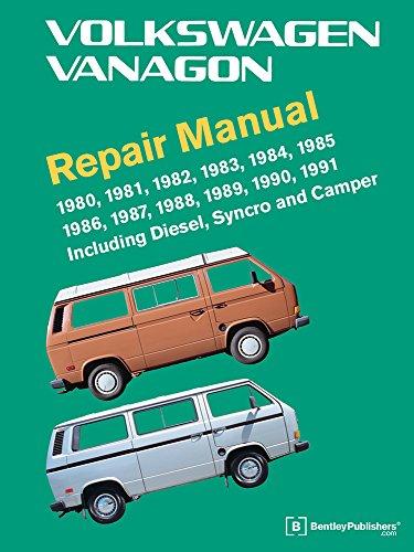 9780837616650: Volkswagen Vanagon Official Factory Repair Manual: 1980, 1981, 1982, 1983, 1984, 1985, 1986, 1987, 1988, 1989, 1990, 1991: Including Diesel, Syncro, and Camper