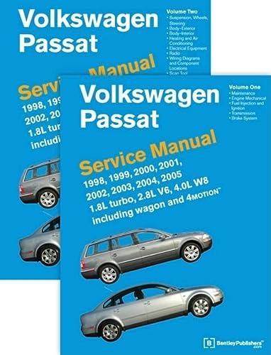 9780837616698: Volkswagen Passat (B5) Service Manual: 1998, 1999, 2000, 2001, 2002, 2003, 2004, 2005 [2 VOLUME SET]