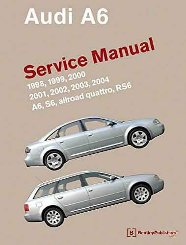 9780837616704: Audi A6 (C5) Service Manual: 1998, 1999, 2000, 2001, 2002, 2003, 2004: A6, Allroad Quattro, S6, Rs6
